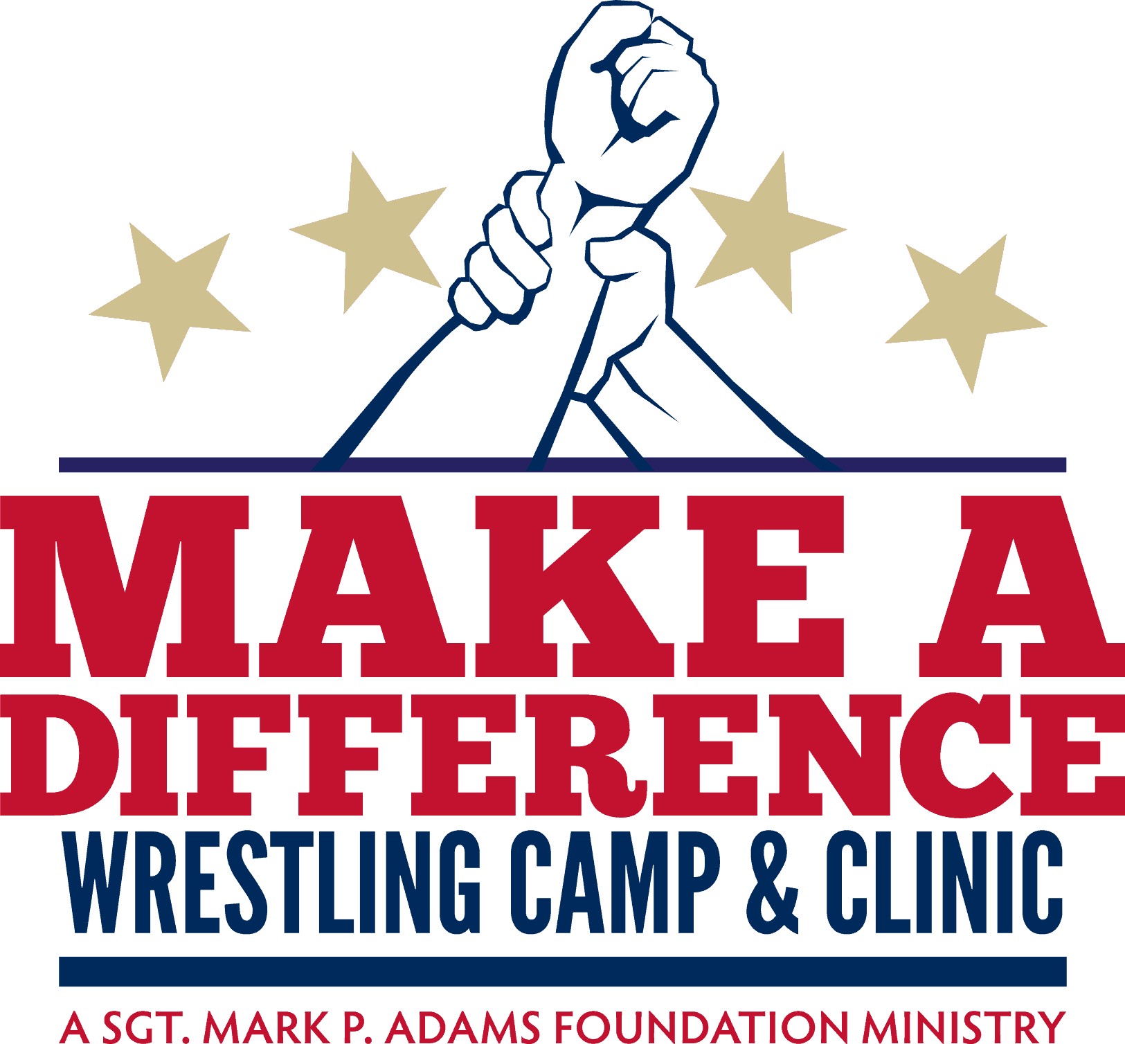Make A Difference Wrestling Camp & Clinic Logo